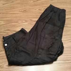 Alice&Olivia base cargo pants, size 8, black
